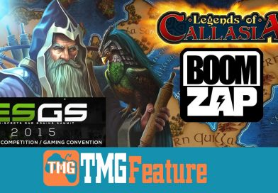 Legends of Callasia Interview with Too Much Gaming – ESGS 2015